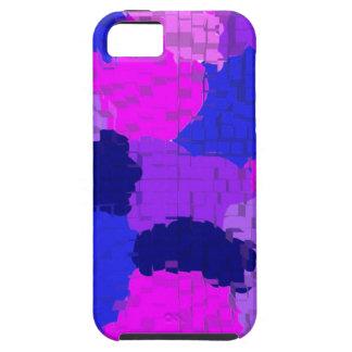 Arte antiguo abstracto S de la moda del estilo de Funda Para iPhone 5 Tough