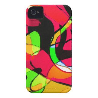 Arte antiguo abstracto S de la moda del estilo de iPhone 4 Case-Mate Funda
