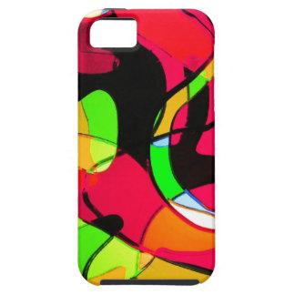 Arte antiguo abstracto S de la moda del estilo de iPhone 5 Fundas