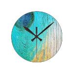 Arte antiguo abstracto S de la moda del estilo de  Reloj De Pared