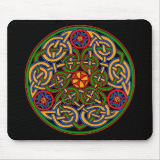 Arte antiguo colorido del Celtic del estilo Mousepads