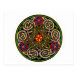 Arte antiguo colorido del Celtic del estilo Tarjetas Postales