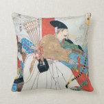 Arte antiguo de Archer del japonés Cojines