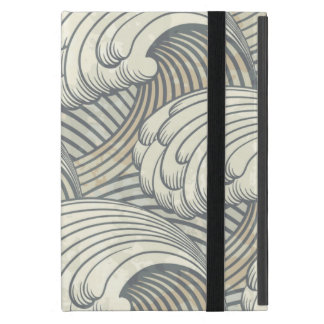Arte antiguo de Japón del modelo de olas oceánicas iPad Mini Cobertura