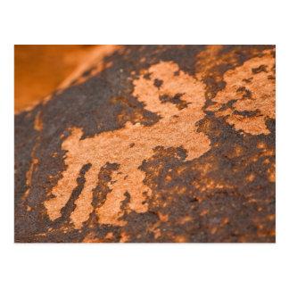 Arte antiguo de la roca tarjetas postales