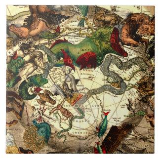 Arte antiguo del vintage de la mitología de la ast tejas  ceramicas