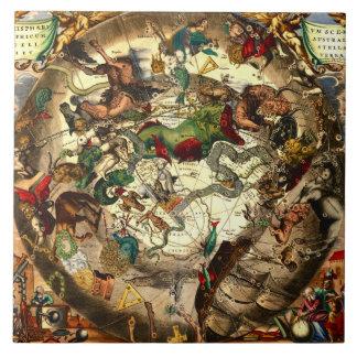 Arte antiguo del vintage de la mitología de la ast tejas  cerámicas