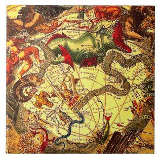 Arte antiguo del vintage de la mitología de la ast azulejos