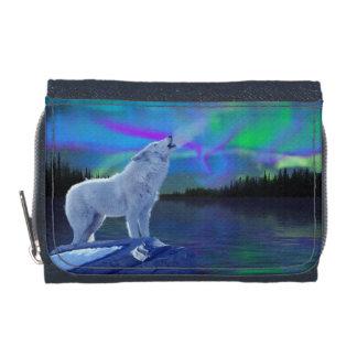 Arte ártico del lobo del grito y de la fauna de la