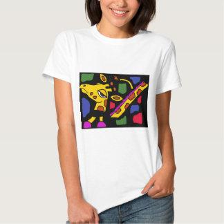 Arte artístico del cubista de la jirafa AA Camisas