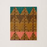 ARTE ARTÍSTICO del triángulo: Golpeteo colorido de Rompecabeza Con Fotos