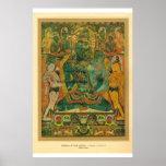 Arte asiático clásico Nepal, siglo XVII de Bodisat Poster