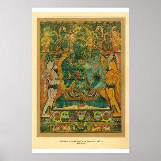 Arte asiático clásico Nepal, siglo XVII de Bodisat Póster