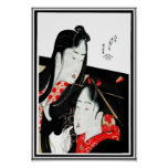 Arte asiático Hokusai Katsushika Japón del vintage Impresiones