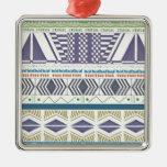 Arte azteca colorido y único ornamentos para reyes magos
