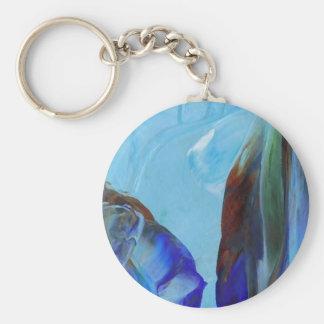 Arte azul CricketDiane del extracto elegante de la Llaveros Personalizados