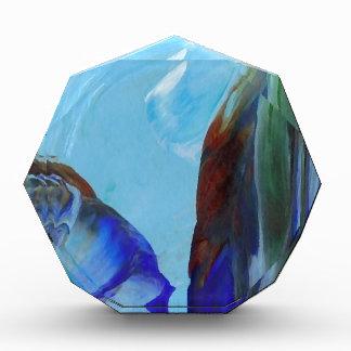 Arte azul CricketDiane del extracto elegante de la