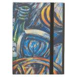 Arte azul de la pintada de la galería de la zona e