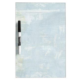Arte azul del Grunge - tablero seco del borrador Pizarra Blanca