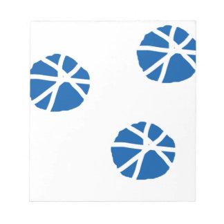 Arte blanco azul de la inspiración de los dólares blocs