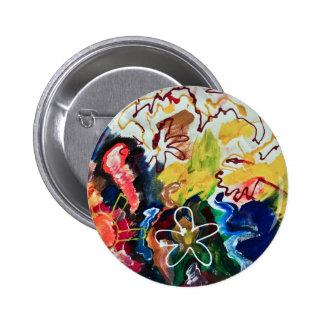 Arte bohemio artsy, abstracto pins