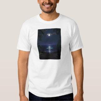 Arte BRILLANTE de la resaca del MAR por el poder Camisas
