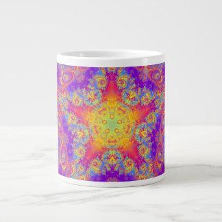 Arte brillante del caleidoscopio del remolino del taza grande