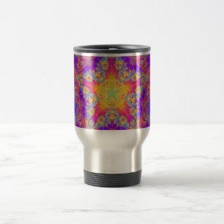 Arte brillante del caleidoscopio del remolino del taza térmica