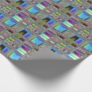 Arte brillante del mosaico de Jewelee Papel De Regalo