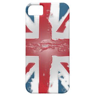 Arte británico de la cera del extracto de la funda para iPhone SE/5/5s