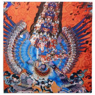 Arte budista tibetano (Chemchok Heruka) Servilletas Imprimidas