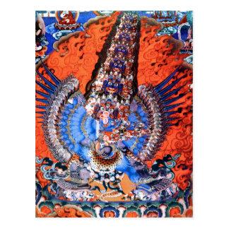 Arte budista tibetano (Chemckok Heruka) Postales