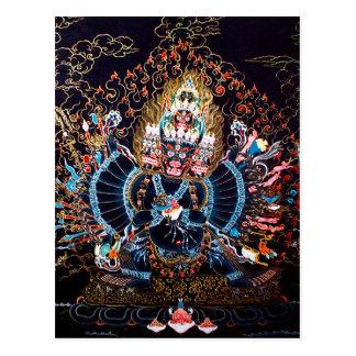 Arte budista tibetano (Chemckok Heruka) Tarjetas Postales