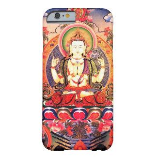 Arte budista tibetano funda para iPhone 6 barely there