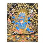 Arte budista tibetano impresiones en lona