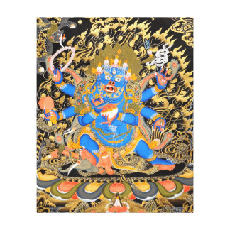 Arte budista tibetano lona estirada galerías