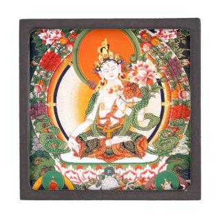 Arte budista tibetano precioso cajas de joyas de calidad