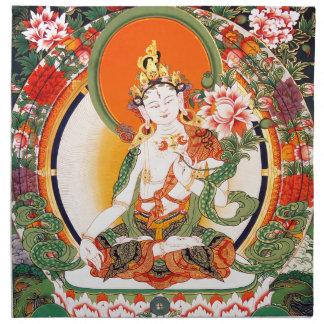 Arte budista tibetano precioso servilletas de papel