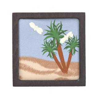 Arte caprichoso del dibujo animado de las plantas cajas de regalo de calidad