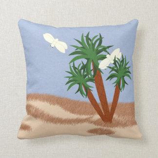 Arte caprichoso del dibujo animado de las plantas almohada