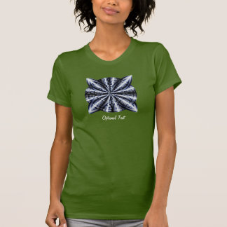 Arte céltico adaptable azul de la original del camisetas