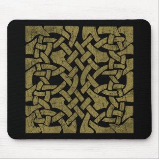 Arte céltico antiguo colorido - complejo, hermoso tapete de raton