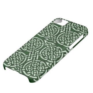 Arte céltico verde del knotwork