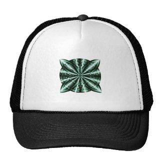 Arte céltico verde del nudo gorras