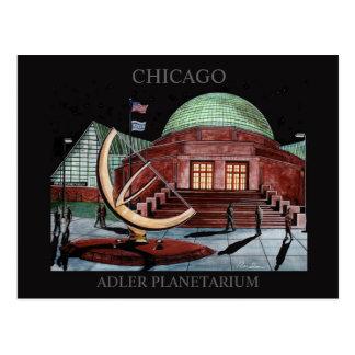 Arte Chicago de Randsom de la postal del