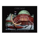 Arte Chicago de Randsom de la postal del planetari