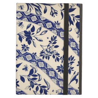 Arte chino azul del vintage