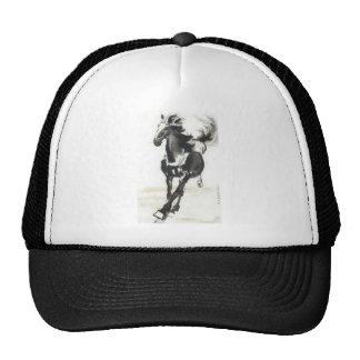 Arte chino - caballos gorra
