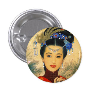 Arte chino hermoso joven fresco de príncipe Guo Ji Pin