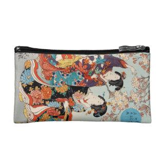 Arte clásico de Utagawa de los geishas del ukiyo-e
